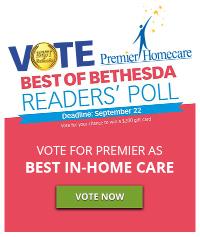 Vote Premier Homecare for Best In-Home Care